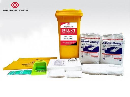 spill kit ứng phó sự cố tràn dầu